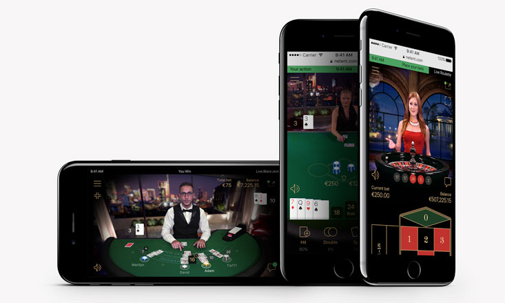 NetEnts offerta mobile per casinò dal vivo